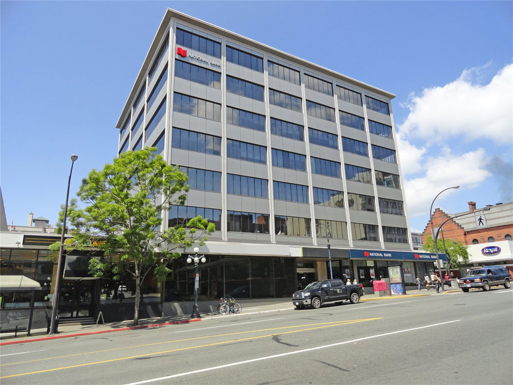 880 douglas st victoria bc kerr controls inc for Office design victoria bc