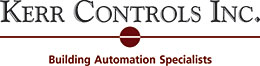"Kerr Controls - Specializing in building controls"", ""control systems and DDC controls"