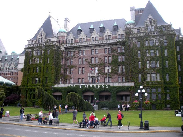 Empress Hotel Energy Savings Retrofit